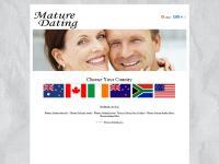 mature-dating.com Mature Dating Australia, Mature Dating Canada, Mature Dating Ireland
