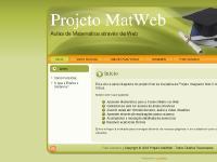 Projeto MatWeb: Início
