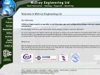 McEvoy Engineering Ltd - Steel Fabrication, Welding, Pipework, Machining, Steel