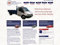 mcgillscarandcommercial.co.uk Scrap Car, North Wales, Car Parts