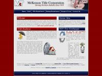 McKesson Title Corporation - Title Insurance - Northern Indiana