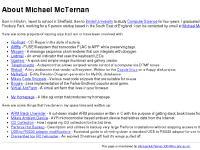 About Michael McTernan
