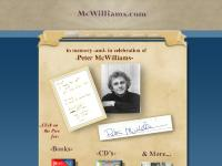mcwilliams.com Peter's Philosophy, Bio by Peter, Peter's Philosophy