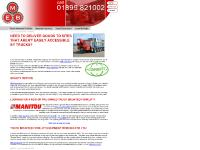 lorry mounted forklift, MEB Equipment, Combilift, Combilift