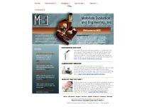 mee-inc.com MEE Materials Evaluation and Engineering Inc failure analysis metallurgy metallurgical engineerl laboratory materials engineering microstructure metallography light microscopy fracture fractography corrosion wear surface analysis testing l test lab polymers forensic science SEM EDS consulting consultants rockwell hardness microhardness microindentation h