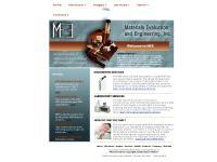 mee-inc.com MEE Materials Evaluation and Engineering Inc failure analysis metallurgy metallurgical engineerl laboratory