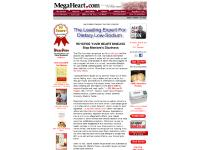 megaheart.com Answers from a real life CHF Survivor, FREE: Great New Recipes