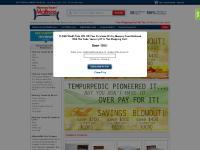 Memory Foam Mattress, NASA Foam Beds, Tempur® | MemoryFoamMattress.com