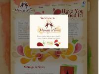 Menage dating website