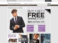 Men's Wearhouse Clothing & Accessories for Men - Suits - Dress Shirts - Dress Shoes
