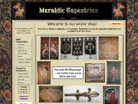 Meraldic Tapestries offer an extensive collection of reproduction, woven textiles which can be found in the form of Tapestries, Bell Pulls, Cushions, Throws, Tapestry Rods and Tassels.  Quality of products is excellent and service offered is of the h