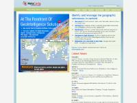metacarta.com geosearch, geographic text search, geoweb