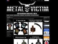 metal-victim.fr Fournisseur officiel de merchandising rock, boutique en ligne de merchandising rock et alternatif et pleins d'autres marques et accessoires, rock a gogo