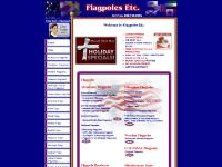 Colossal Flagpoles, Sectional / House Mount Flagpoles, Telescoping Flagpoles, American Flags