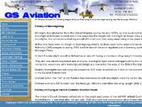 Microlight history in the UK and Graham Slater, and Overton Heath airfield