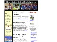 middleschooldebate.com new order form., Visit the page, Watch