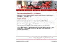 Links, Installation, Hire, Used Generators For Sale
