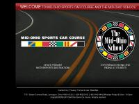 Mid-Ohio Sports Car Course and The Mid-Ohio School - Lexington, Ohio. Racing and Driving School