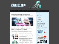 Mikufan.com: A Hatsune Miku Fansite