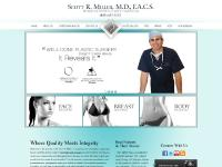 Plastic Cosmetic Surgery San Diego La Jolla CA Scott R Miller MD