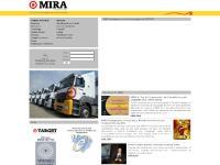 MIRA Transportes - Página principal