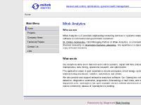Mitek Analytics - Mitek Analytics LLC