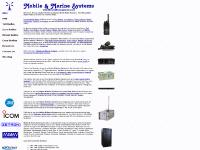 mobilemarinesystems.com private mobile radio, portable communications equipment, voice and data systems