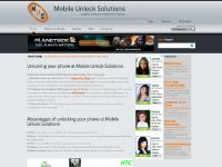 Mobile Unlock Solutions - The Ultimate Website For Mobile Phone Unlocking