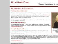 "modelhealthforum - The Model Health Forum :: ""Breaking the vicious circle in model health"""