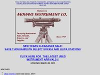 Mohave Instrument Co., Surveying Instrument Sales, Rentals, and Repairs