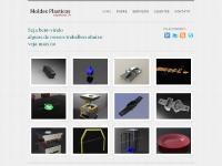 Moldes Plásticos Engenharia 3D: Projetos de Moldes Plásticos, Modelamento 3D,