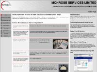 monrose.co.uk search: uk, embedded software, software engineering