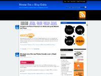 Montar Site e Blog Grátis - Dicas para Montar Sites e Blogs