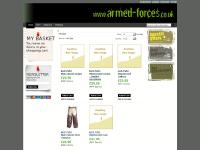 Armed-Forces.co.uk Homepage