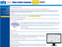 MTA Software Solutions : Motor Trader's Assistant Home Page