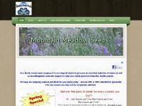 mountainmeadowseeds.com seeds, gardening, flowering vines