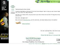movieking.co.uk The Movie King Website, information for the home movie hobbyist. Want to make your own movies? Guides on making DVD, VCD