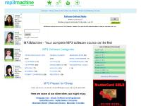 MP3Machine - Your complete MP3 software source on the Net (MP3Machine)