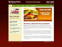 Mr Shoes Pizza Rochester NY | serving great pizza since 1986 | Rochester's place for Pizza, Wings, Subs, and more.