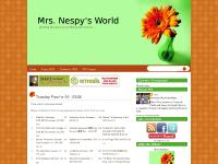 Mrs. Nespy's World