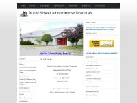 msad49.org Maine School Administrative District 49, Albion Elementary, Adult Education