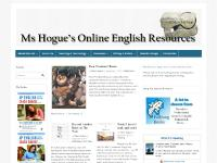 Ms Hogue's Online English Resources —