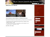 mtsda.org Mount Tahoma, Seventh-day, Adventist