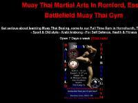 muaythai.org.uk Battlefield Muay Thai Gym, (Click here)