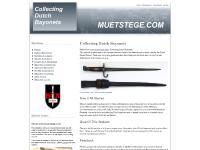 muetstege.com dutch bayonets, Nederlandse bajonetten, M1895