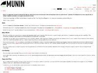 munin-monitoring.org Help/Guide, Wiki, Timeline