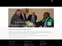 muslimcollege.ac.uk News/Events, Programmes, Staff