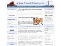 Arizona Criminal Defense Lawyers - AZ Criminal Attorneys