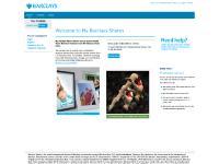 mybarclaysshares.co.uk Accessibility, Portfolio, FAQs
