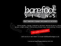 Barefoot Signs :: Devizes